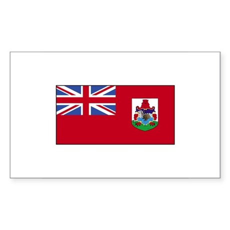 Bermuda flag rectangle decal by screamscreens for Bermuda flag coloring page