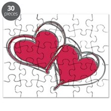 TWO HEARTS AS ONE Puzzle
