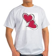 2-TWO HEARTS AS ONE T-Shirt