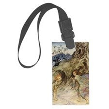 Puck and a Fairy Luggage Tag