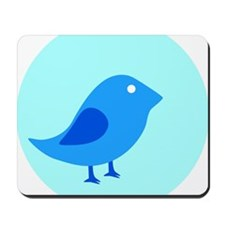 baby bluebird Mousepad