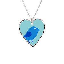 baby bluebird Necklace
