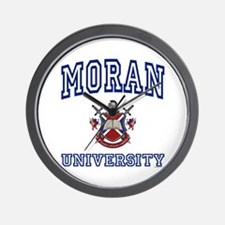 MORAN University Wall Clock
