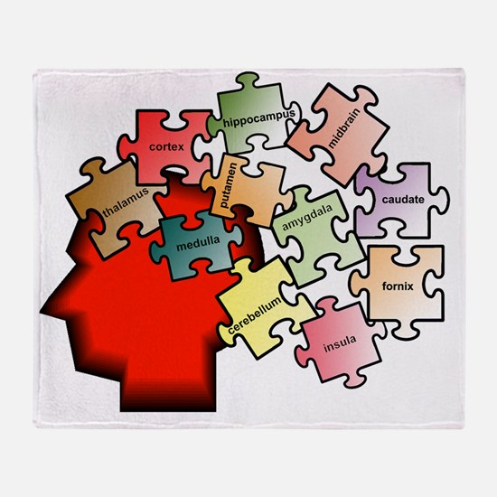 puzzleb Throw Blanket