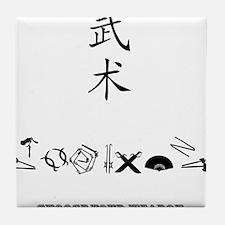 kungfu Tile Coaster