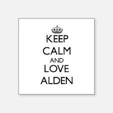Keep Calm and Love Alden Sticker