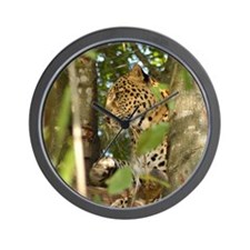 LeopardCheetaro012 Wall Clock