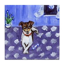 rat terrier 2 Tile Coaster