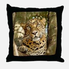 LeopardCheetaro013 Throw Pillow