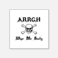 "argh baby Square Sticker 3"" x 3"""