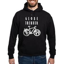 bike globeREDO4black Hoodie
