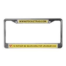 Searching for Uranium License Plate Frame