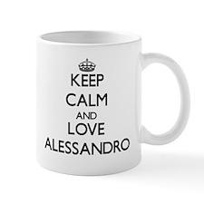Keep Calm and Love Alessandro Mugs