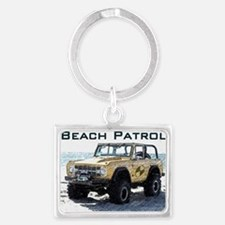 Beach Patrol Bronco 2 Landscape Keychain