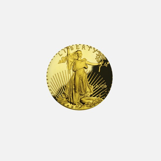 american gold eagle Mini Button