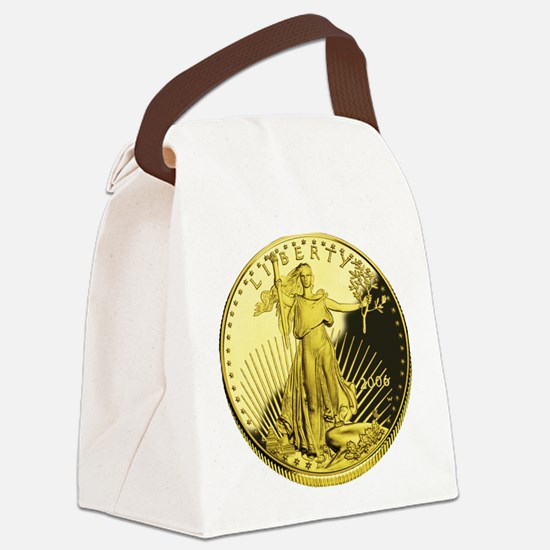 american gold eagle Canvas Lunch Bag