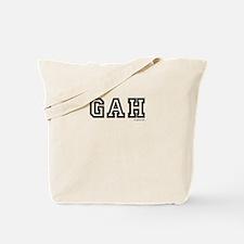 gah Tote Bag