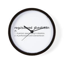 Registered Dietitian Wall Clock