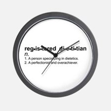 Registered Dietitian Wall Clock