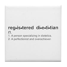 Registered Dietitian Tile Coaster