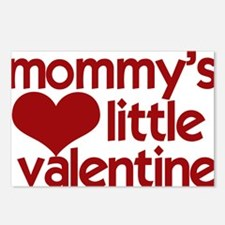 Mommys Little Valentine Postcards (Package of 8)