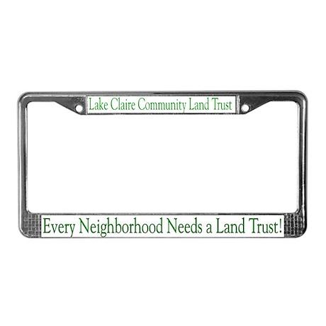 LCCLT License Plate Frame