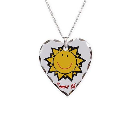 HCS logo2 Necklace Heart Charm