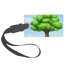 greenest tree Luggage Tag
