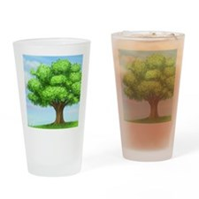 greenest tree Drinking Glass
