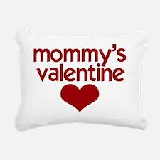 Mommys Valentine (2) Rectangular Canvas Pillow