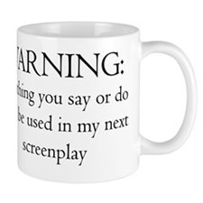 2-ScrWarningscreenplay10x10 Mug