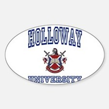 HOLLOWAY University Oval Decal