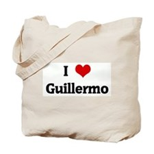 I Love Guillermo Tote Bag