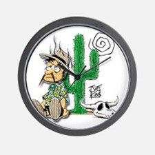lost-dutchman-cactus Wall Clock