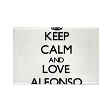 Keep Calm and Love Alfonso Magnets