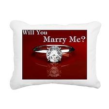 Will.you.CafePress Rectangular Canvas Pillow