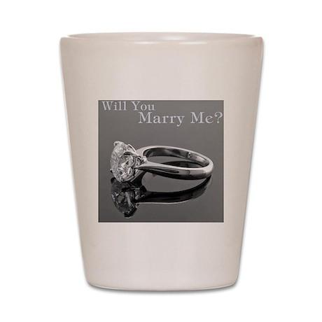 MarryMe.CafePress Shot Glass