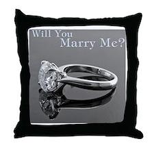 MarryMe.CafePress Throw Pillow