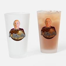 3-pie shirt Drinking Glass