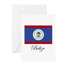 Belize - Flag Greeting Cards (Pk of 10)
