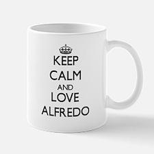 Keep Calm and Love Alfredo Mugs