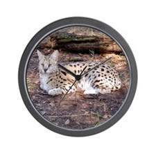 serval 042 Wall Clock