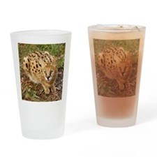 serval 045 Drinking Glass