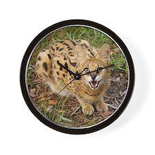 serval 044 Wall Clock