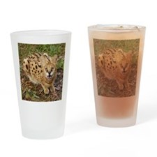 serval 044 Drinking Glass