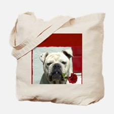 Thank you bulldog Tote Bag