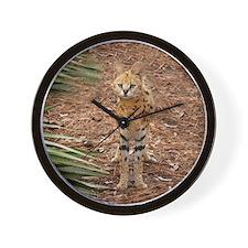 serval 046 Wall Clock