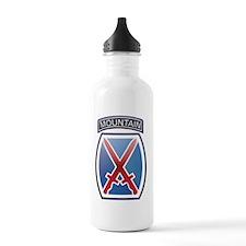 10thmountain_10x10 Water Bottle