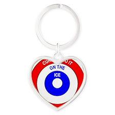 button2 Heart Keychain
