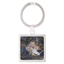 tile 2 Square Keychain